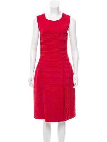 Valentino Textured Knit Dress None