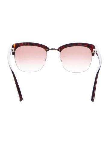 Rockstud Tortoise Sunglasses