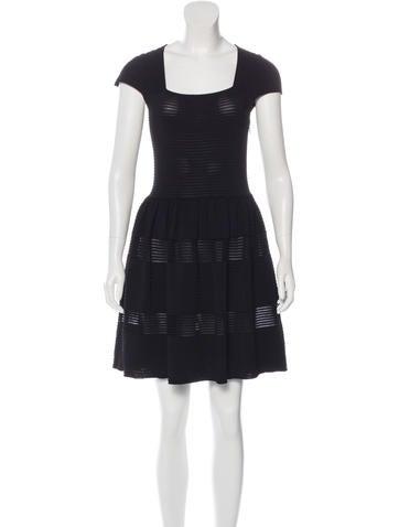 Valentino Knit A-Line Dress None