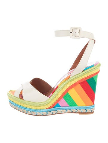 Valentino 1973 Espadrille Wedges None