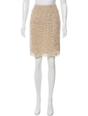 Valentino Embellished Mini Skirt None