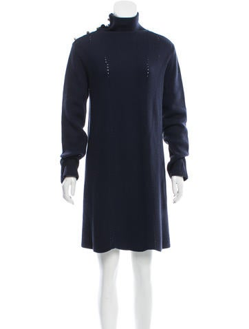 Valentino Wool Sweater Dress None