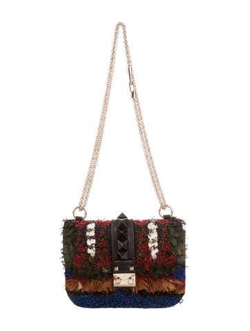 Valentino Small Glam Lock Rockstud Flap Bag