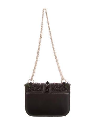 Small Glam Lock Rockstud Flap Bag