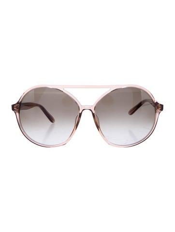 Valentino Oversize Aviator Sunglasses