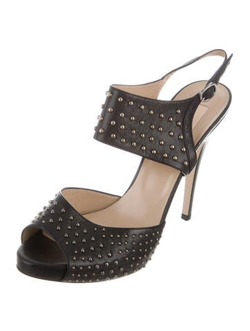 valentino studded platform sandals  shoes  val55815
