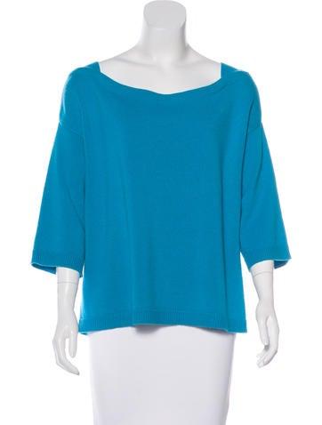 Valentino Three-Quarter Cashmere Sweater None