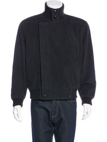 Valentino Wool Bomber Jacket None