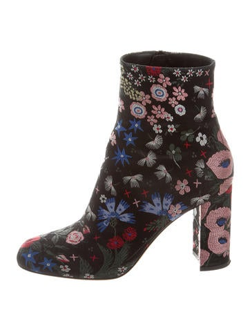 Valentino Spring Garden Ankle Boots