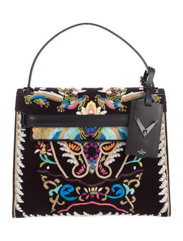 Valentino 2016 Embroidered Dragon My Rockstud Bag