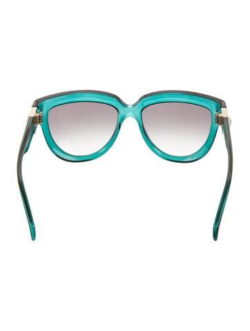 Rockstud Cat-Eye Sunglasses