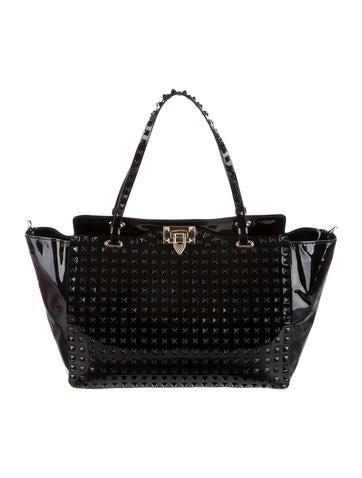 Lacca Allover Stud Shopper Bag