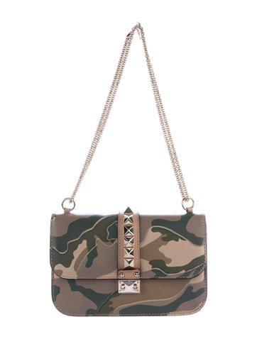 Camo Glam Lock Bag