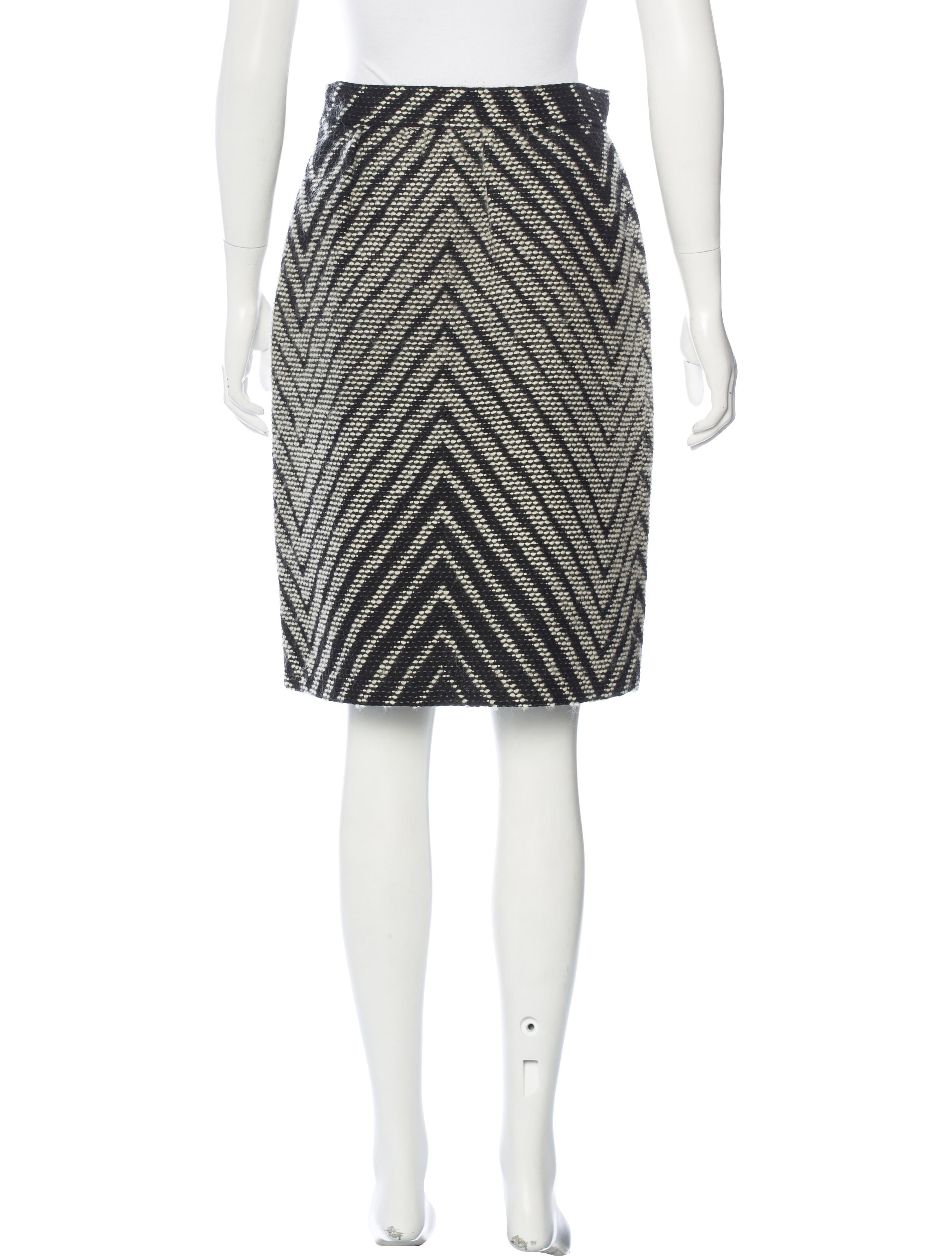 Valentino Knit Pencil Skirt - Skirts - VAL57831 The RealReal