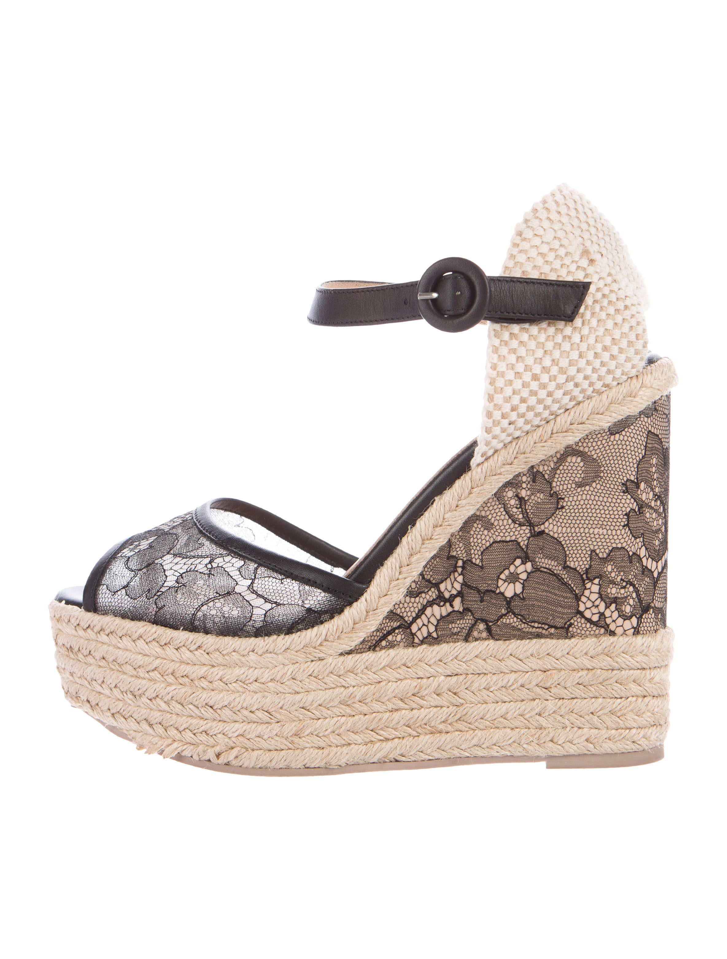 valentino espadrille wedge sandals shoes val58005