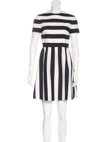 Valentino Virgin Wool & Silk-Blend Dress None