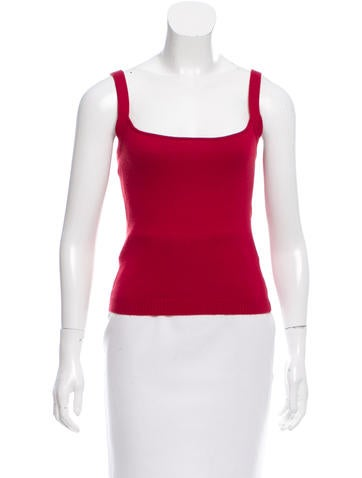 Valentino Wool Sleeveless Top None