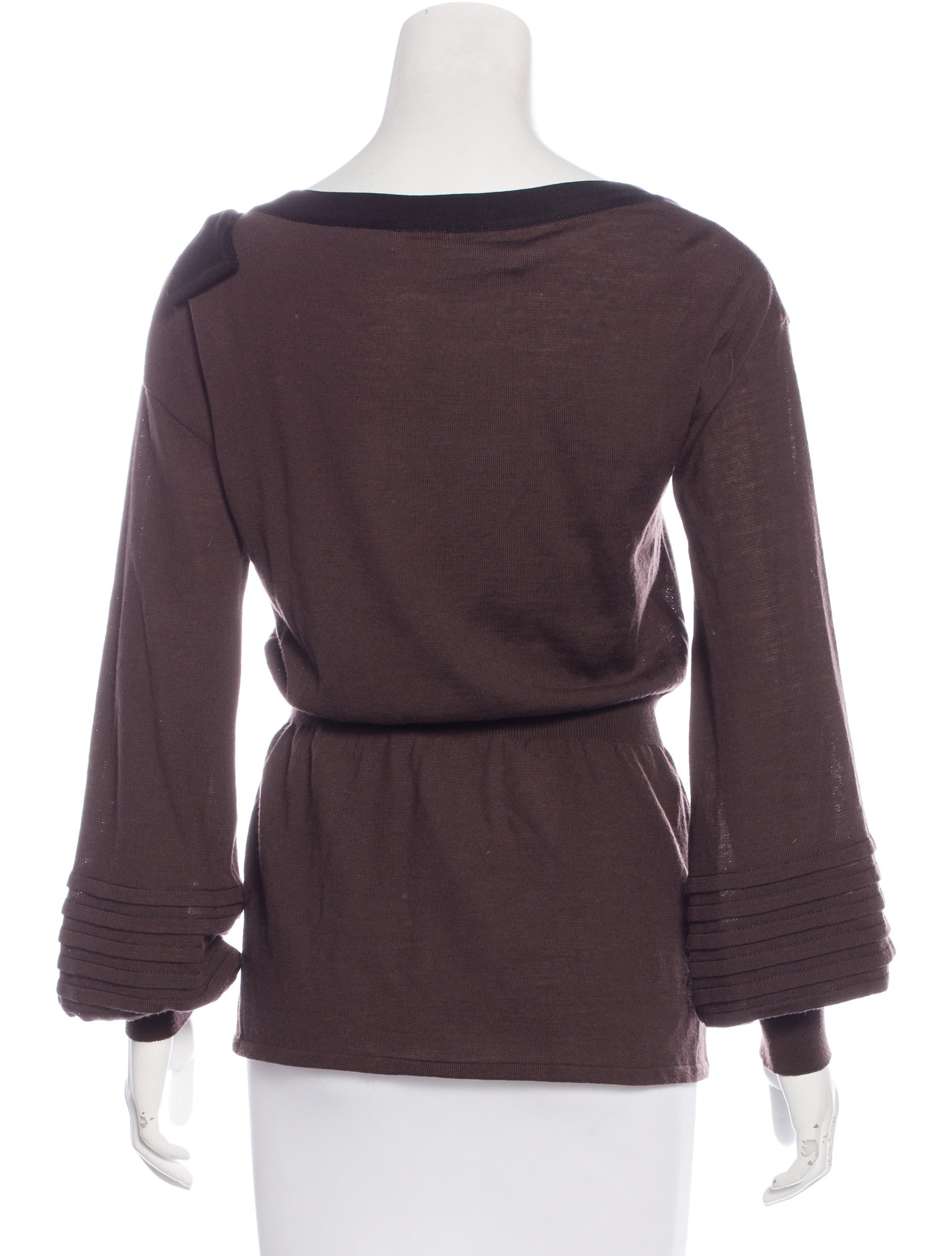 Valentino wool blend long sleeve top clothing val58922 for Best wool shirt jackets