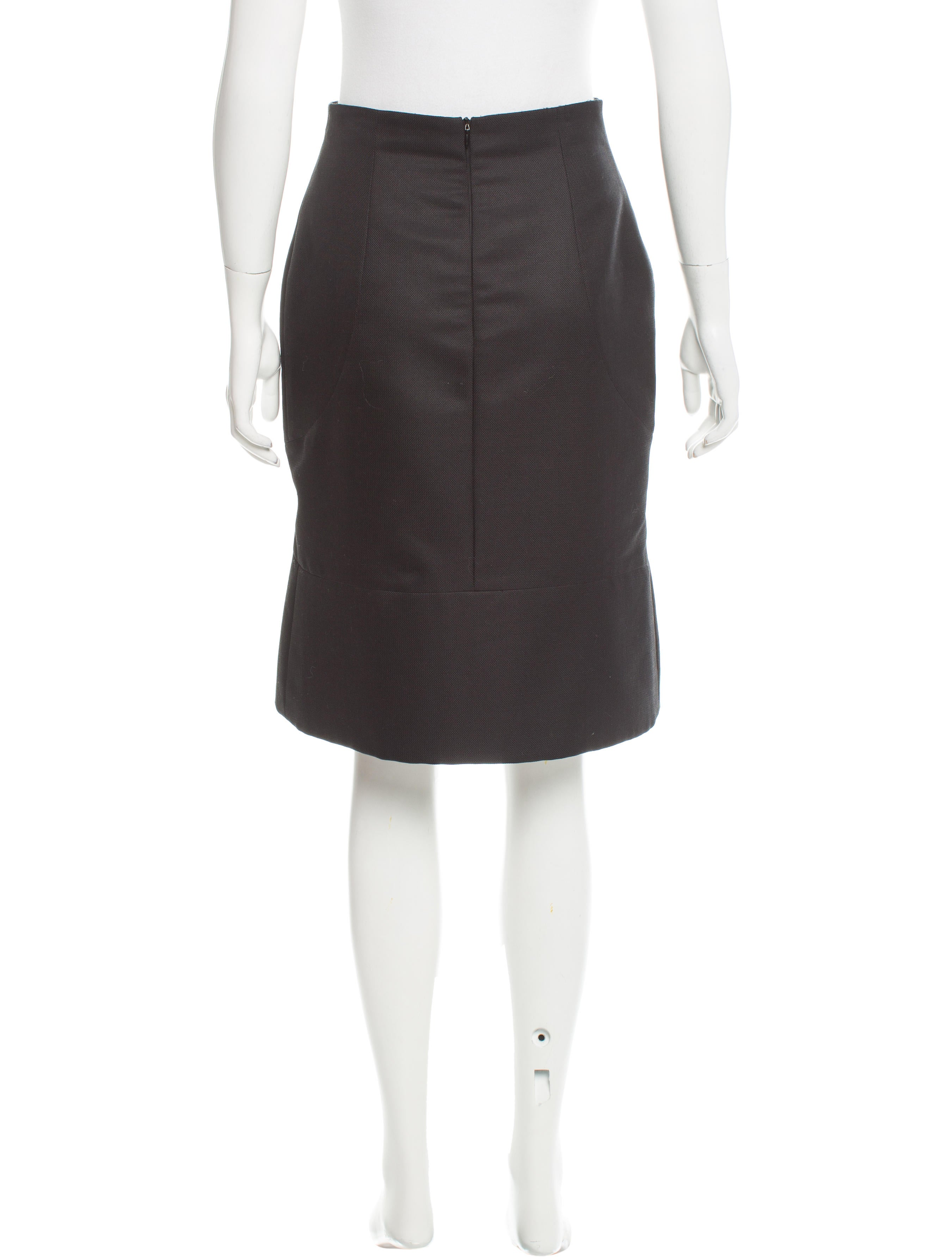valentino wool pleated skirt clothing val59108 the