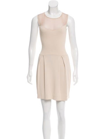 Valentino Pleated A-Line Dress None