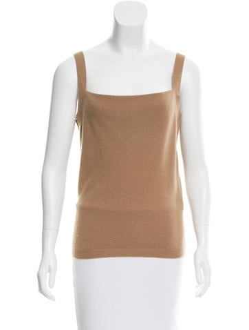 Valentino Wool & Cashmere-Blend Top w/ Tags None