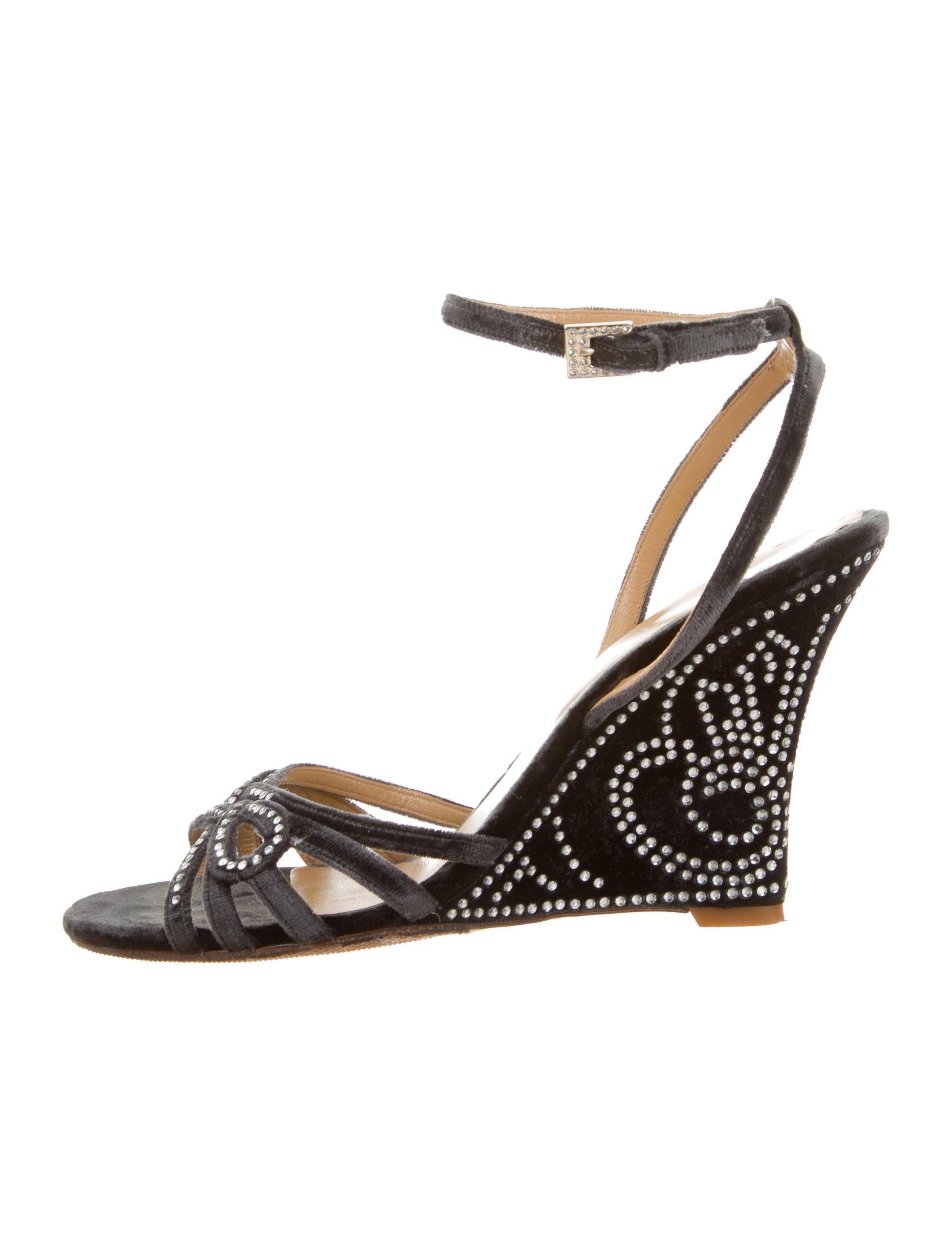 5dc163ca557 Valentino Velvet Bow Embellished Sandal