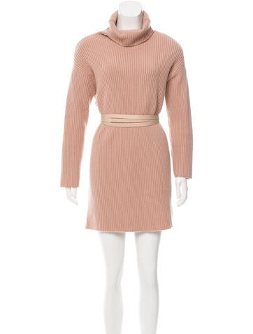 Valentino Wool & Cashmere-Blend Dress None