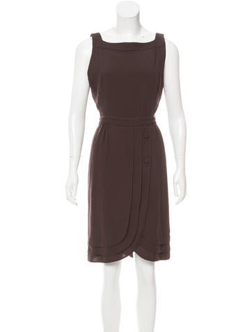 Valentino Wool Knee-Length Dress None