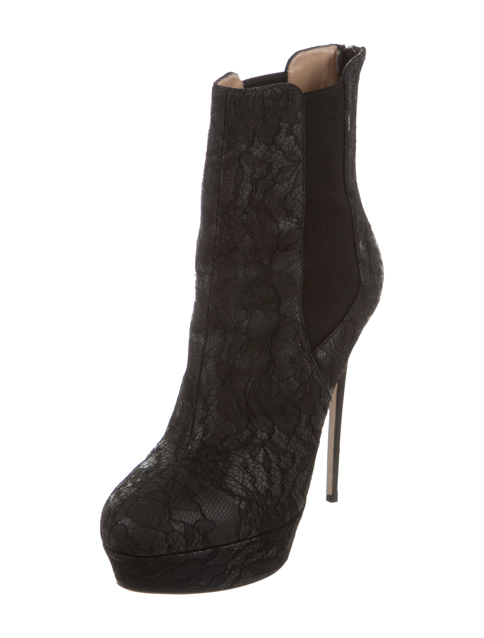 valentino platform lace ankle boots shoes val61111