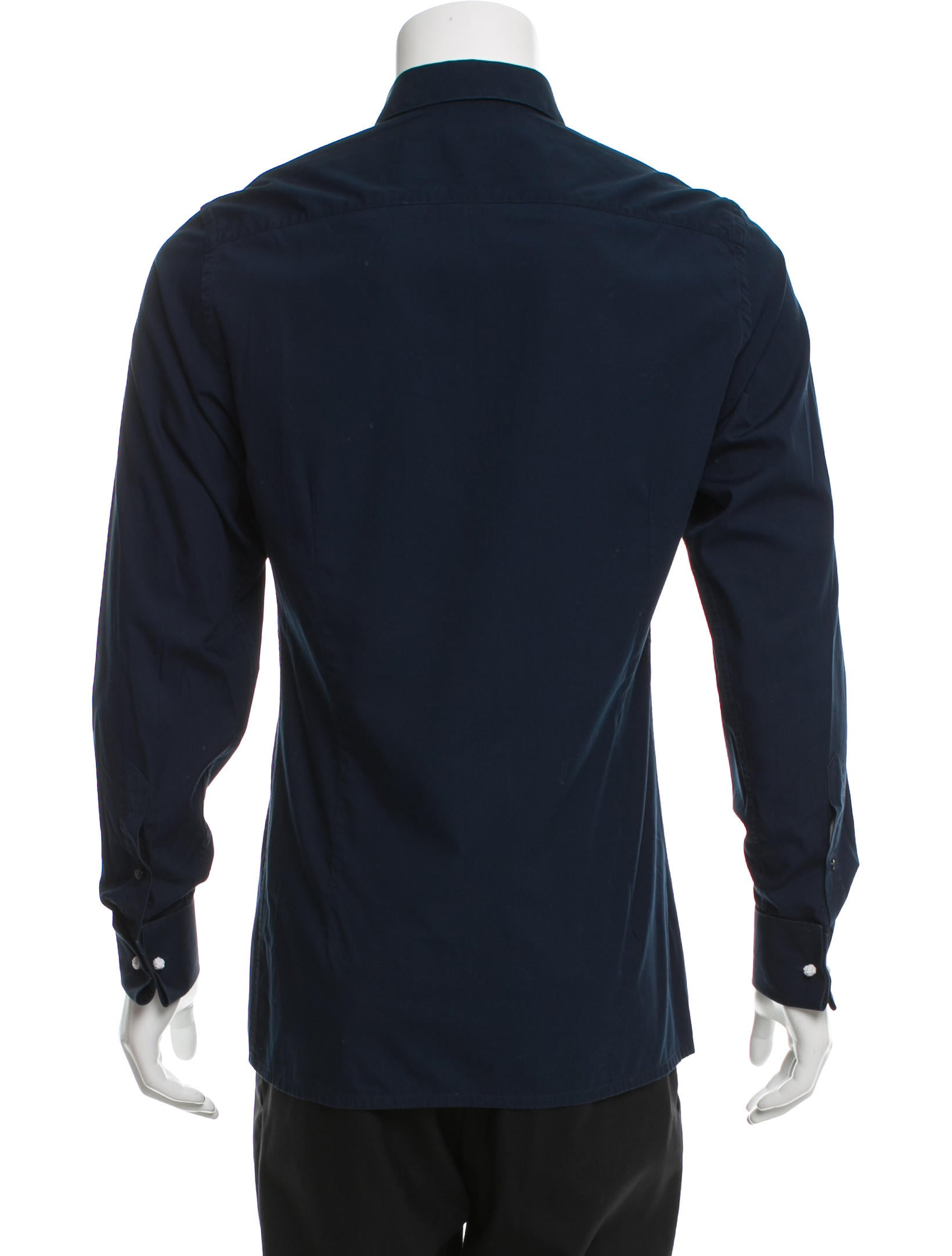 Valentino Long Sleeve Button Up Shirt Clothing