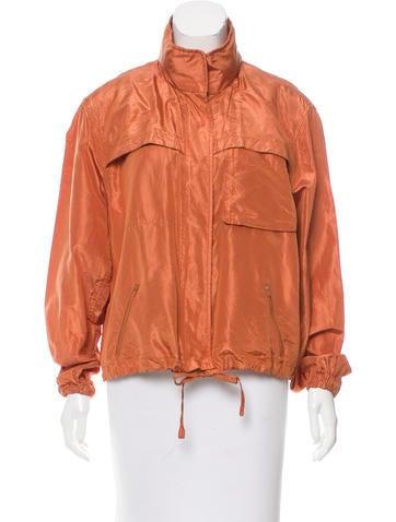 Valentino Lightweight Silk Jacket None