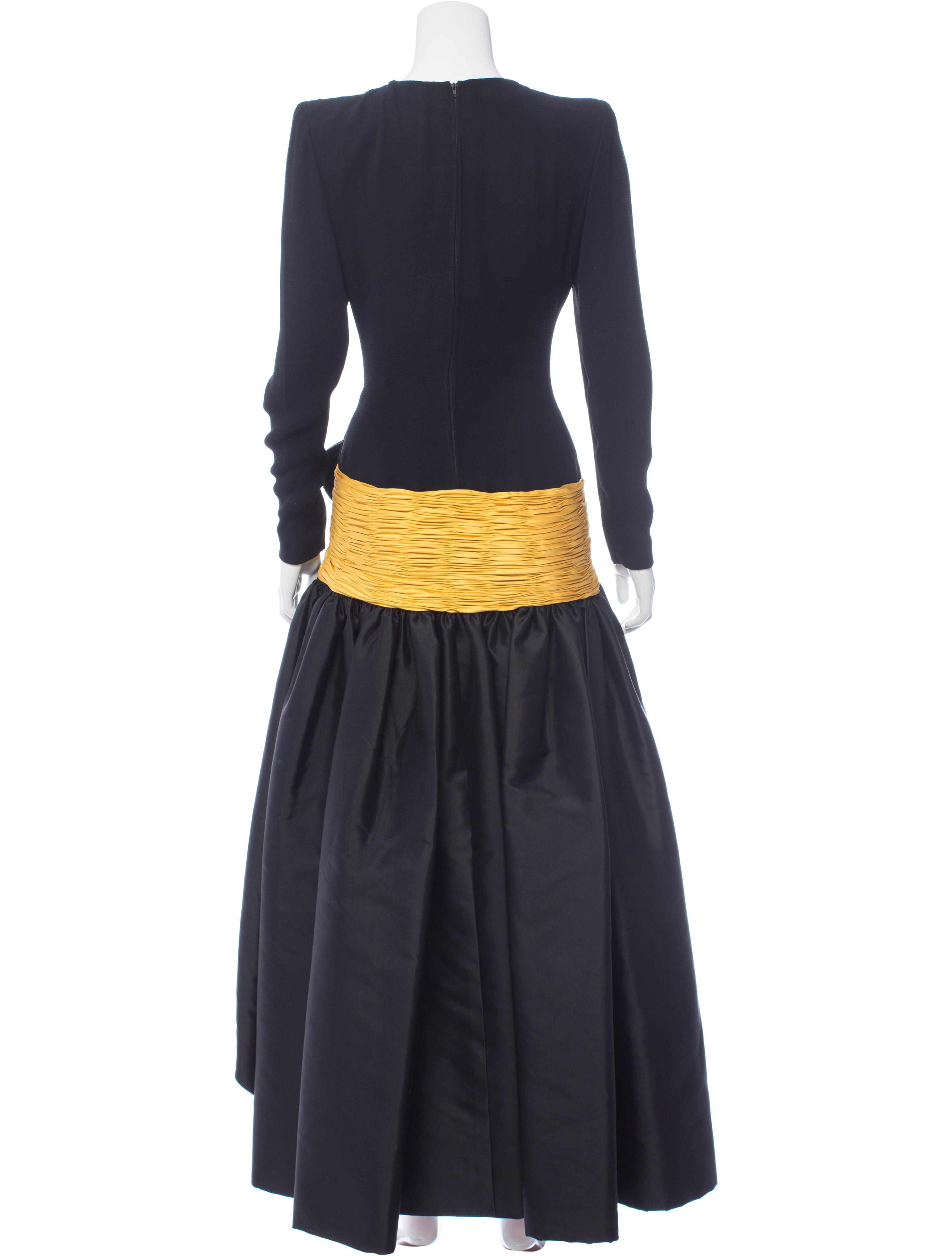 valentino sleeve evening dress clothing val63733