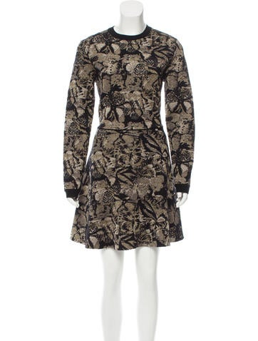 Valentino Jacquard Knit Dress w/ Tags None