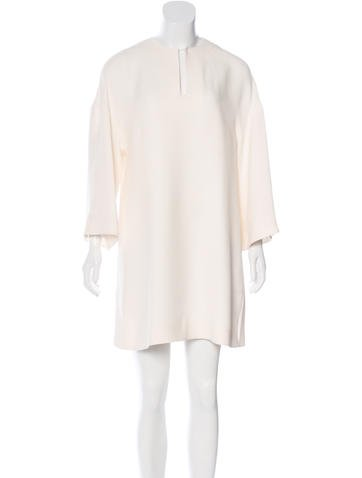 Valentino Silk Shift Dress None
