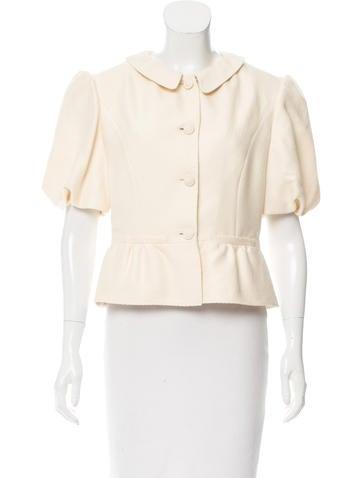 Valentino Woven Silk Jacket None