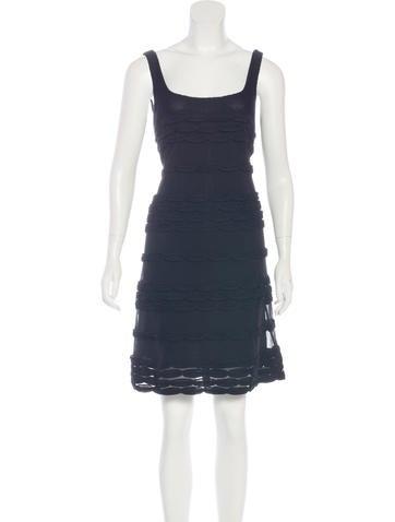 Valentino Silk A-Line Dress None