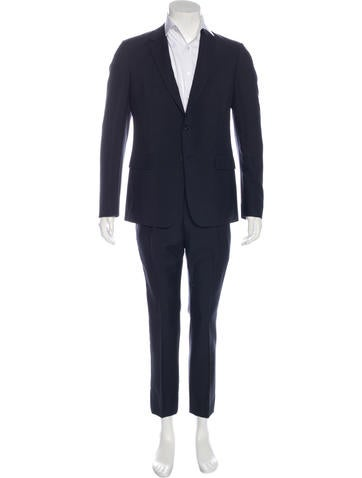 Valentino Virgin Wool Suit w/ Tags None