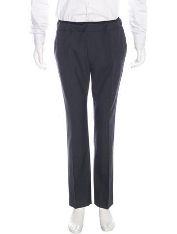 Valentino Wool Drawstring Pants None