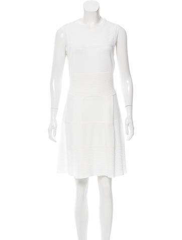 Valentino Sleeveless Mini Dress None