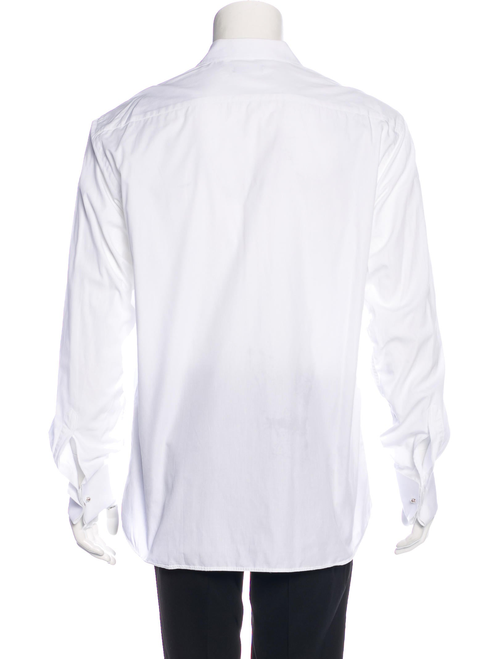 Valentino french cuff dress shirt clothing val66489 for Mens dress shirts french cuffs