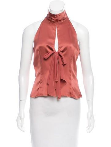 Valentino Silk Sleeveless Top w/ Tags None