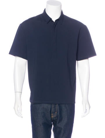 Valentino Woven Polo Shirt w/ Tags None