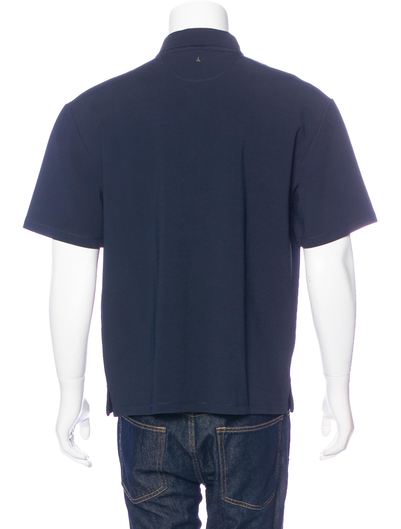 Valentino woven polo shirt w tags clothing val66625 Woven t shirt tags