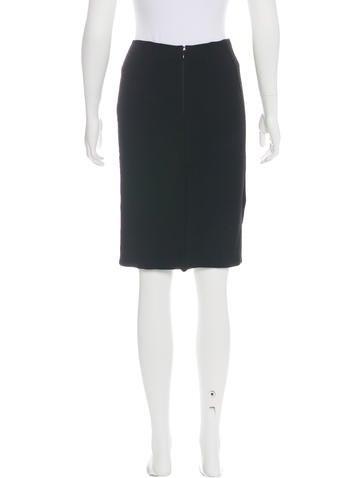valentino knit knee length skirt clothing val67371