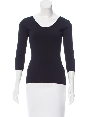 Valentino Long Sleeve Knit Top None