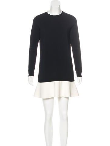 Valentino Mini Shift Dress None