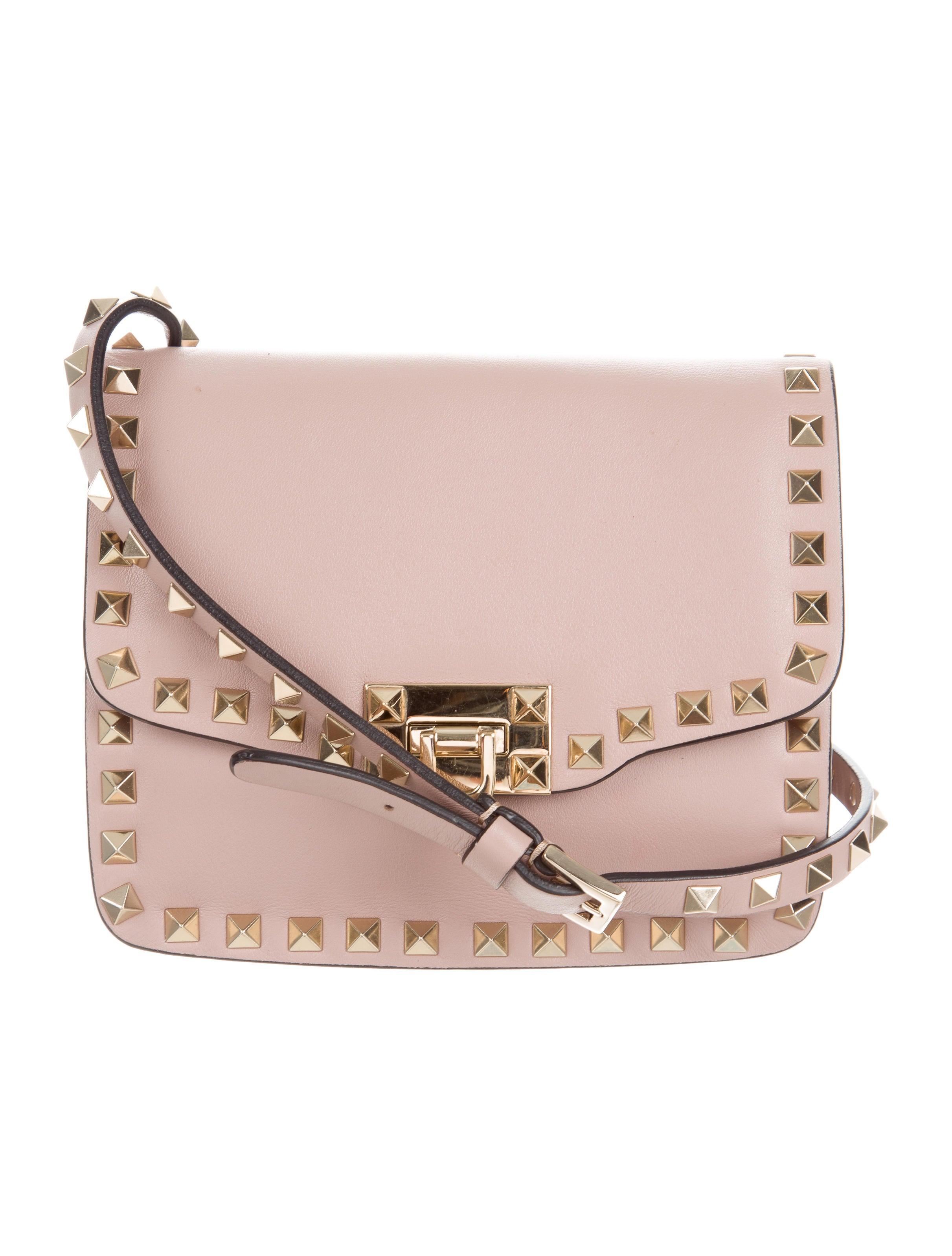 Valentino Rockstud Mini Crossbody Bag Handbags