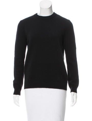 Valentino Wool Zip-Up Sweater None
