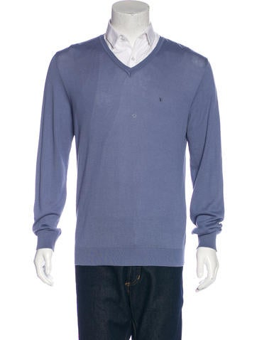 Valentino V-Neck Knit Sweater None