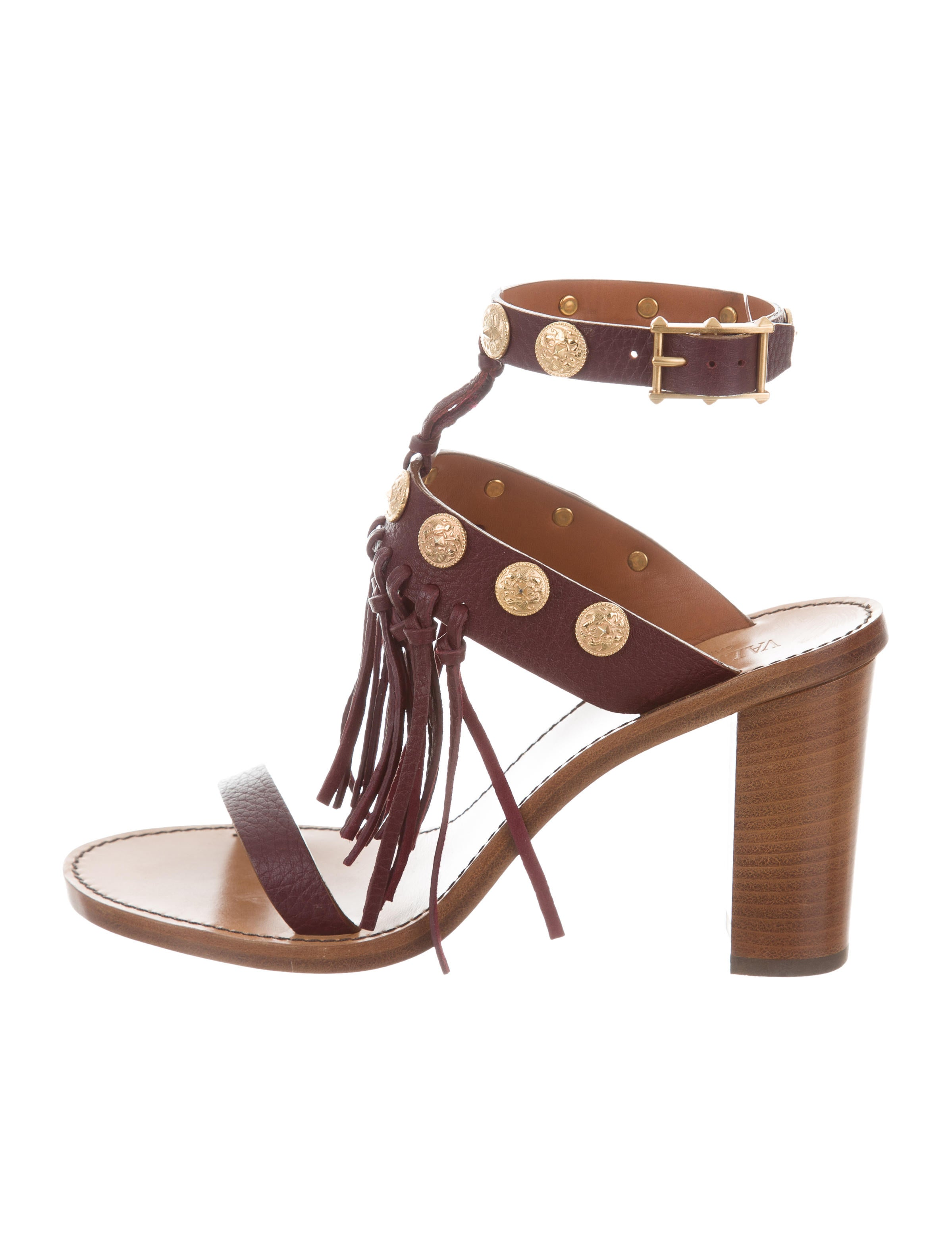 Valentino Rockstud Medallion Sandals from china free shipping low price zww6C5GU